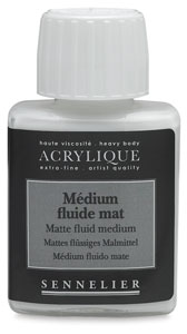 Matte Fluid Medium, 75 ml
