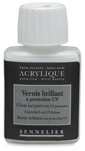 Gloss Lacquer with UV Protection, 75 ml