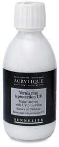 Matte Lacquer with UV Protection, 250&amp;nbsp;ml