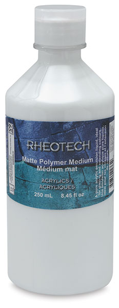 Matte Polymer Medium, 250 ml Bottle