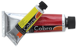 Cobra Water Mixable Oil Colors, 40 ml and 150 ml Tubes