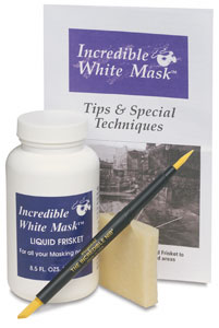 Incredible White Mask Frisket Kit, 8 oz