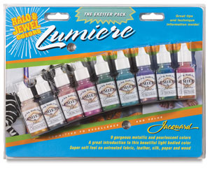 Jacquard lumiere acrylics, exciter pack, lumiere