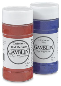 Gamblin Artist's Colors Dry Pigments, Whiting