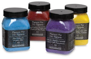 Sennelier Dry Pigments, Green Earth
