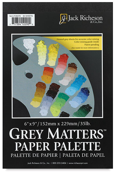 Gray Paper Palette, 30 Sheets