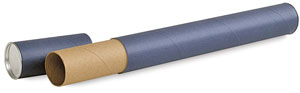 Mailing Tube, Blue