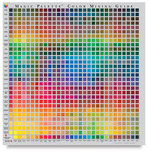 Color Selector and Mixing Guide, Studio Size