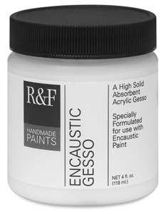 Encaustic Gesso, 4 oz Jar