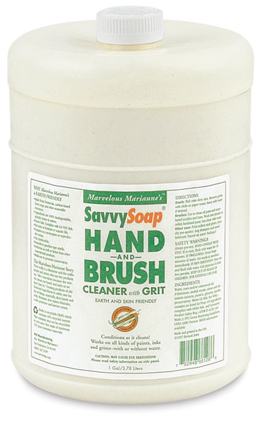 SavvySoap with Grit, 128 oz