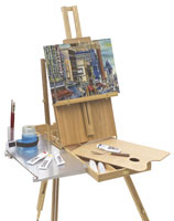 Portable Painting Easel Plans