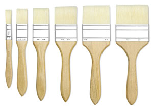 Gesso Brush, Sizes  1/2&quot;&amp;ndash;3&quot; 