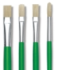 Blick Economy White Bristle Brushes