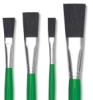 Blick Economy Black Bristle Set
