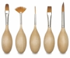 Blick Egg Handled Brushes