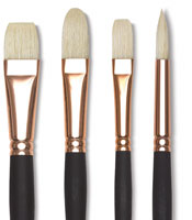 Blick Masterstroke Pure Interlocking Bristle Brushes