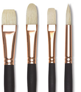 Masterstroke Pure Interlocking Bristle Brushes