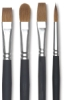 Blick Masterstroke Pure Red Sable <nobr>Long Handle Brushes</nobr>