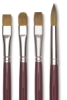 Da Vinci Kolinsky Red Sable Oil Brushes