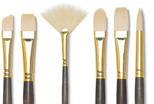 Princeton Best Synthetic Bristle Brushes
