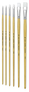 Blick Academic Synthetic Bright, Bright, Set of 6