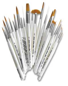 Ultra-Mini Brushes, Set of 29