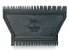 Graduated 2-Sided Rubber Comb