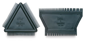 Triangular Comb and 2-Sided Comb