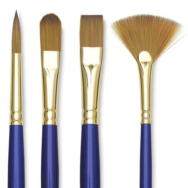 Long Handle Sapphire Brushes