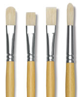 Blick Academic Bristle Brushes