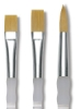 Royal Soft Grip Golden Taklon Brushes