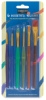 Children's Assorted Taklon Brushes, Set of 6