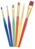 Sargent Art Children's Assorted Taklon Brushes