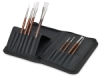 White Sable Short Handle Brushes, Set of 8  NEW!