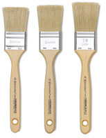 Escoda Natural Chungking Bristle Varnishing and Gesso Brushes