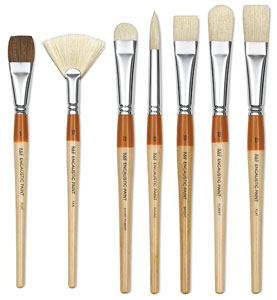 R&amp;F Encaustic Brushes