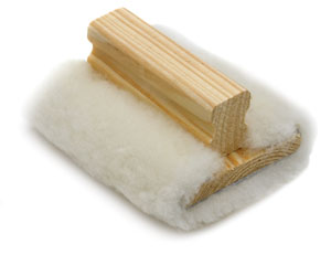 Lambswool Applicator, Flat