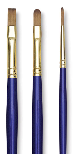Sapphire Pack Z, Set of 3 Brushes
