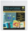 Stick-On Canvas Sheets, Pkg of 4