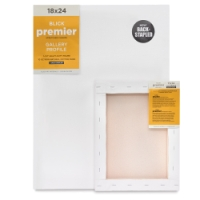 "Blick Premier Back-Stapled Gallery 1-1/2"" Profile Cotton Canvas"