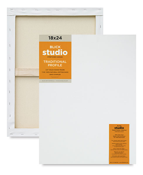 Studio Traditional Profile Canvas