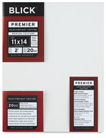 Blick Premier Heavyweight 2&quot; Profile Cotton Canvas