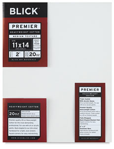 "Premier Heavyweight Canvas, 2"" Deep"