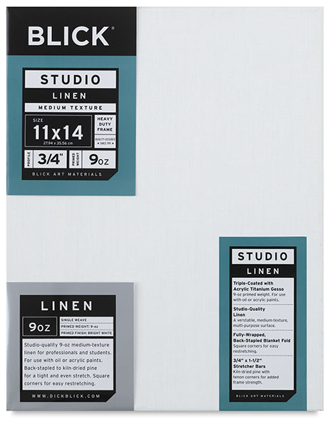 "Studio ¾"" Profile Linen Canvas"