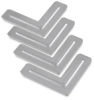 Steel Corners for Stretcher Bar, Pkg of 4