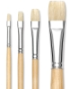 Hog Bristle Bright Brushes