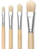 Hog Bristle Filbert Brushes