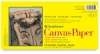 Canvas Paper Pad, 10 Sheets 6&quot;  12&quot;