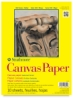 Canvas Paper Pad, 10 Sheets 9&quot;  12&quot;