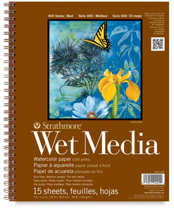 Wet Media Pad, 15 Sheet Pad